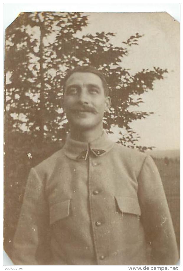 PHOTO ORIGINALE  SOLDAT PREMIERE GUERRE - Guerre, Militaire