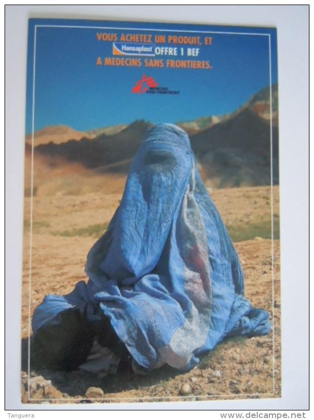 Burka Boerka Burqa Femme Vrouw Medecins Sans Frontières Hansaplast Pub Boomerang - Santé