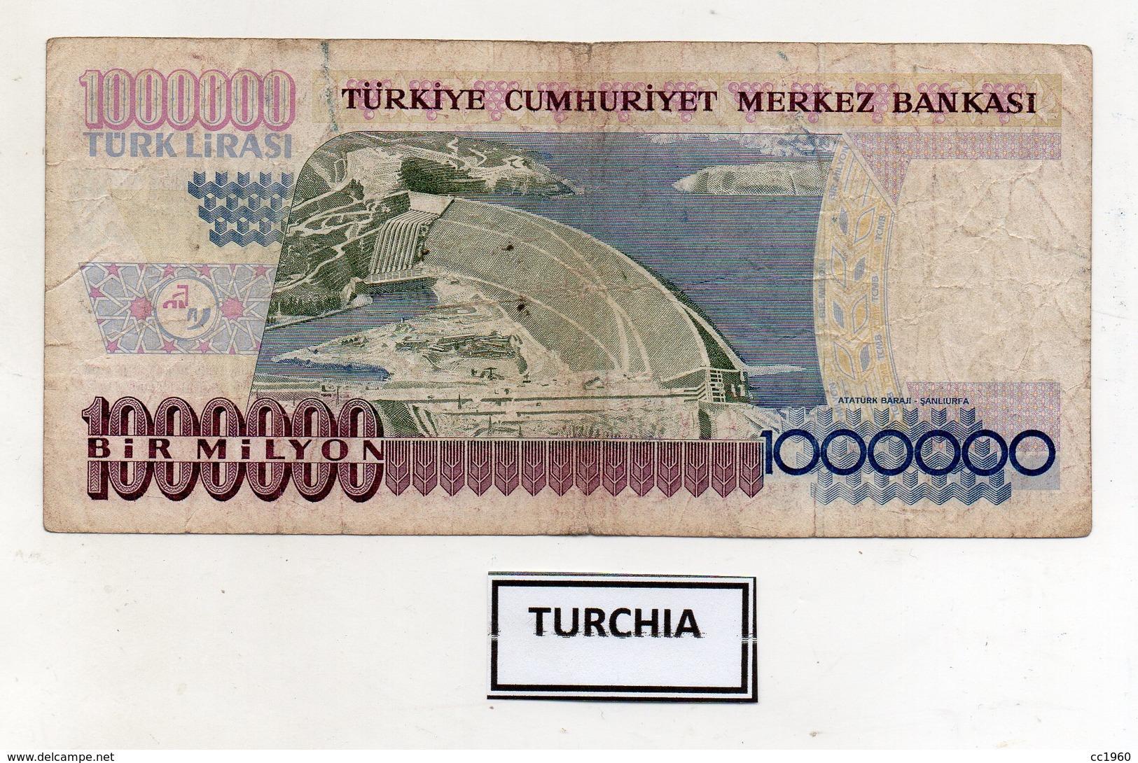 Turchia - 1970 - Banconota Da 1.000.000 Lire Turche - Usata -  (FDC9829) - Turchia