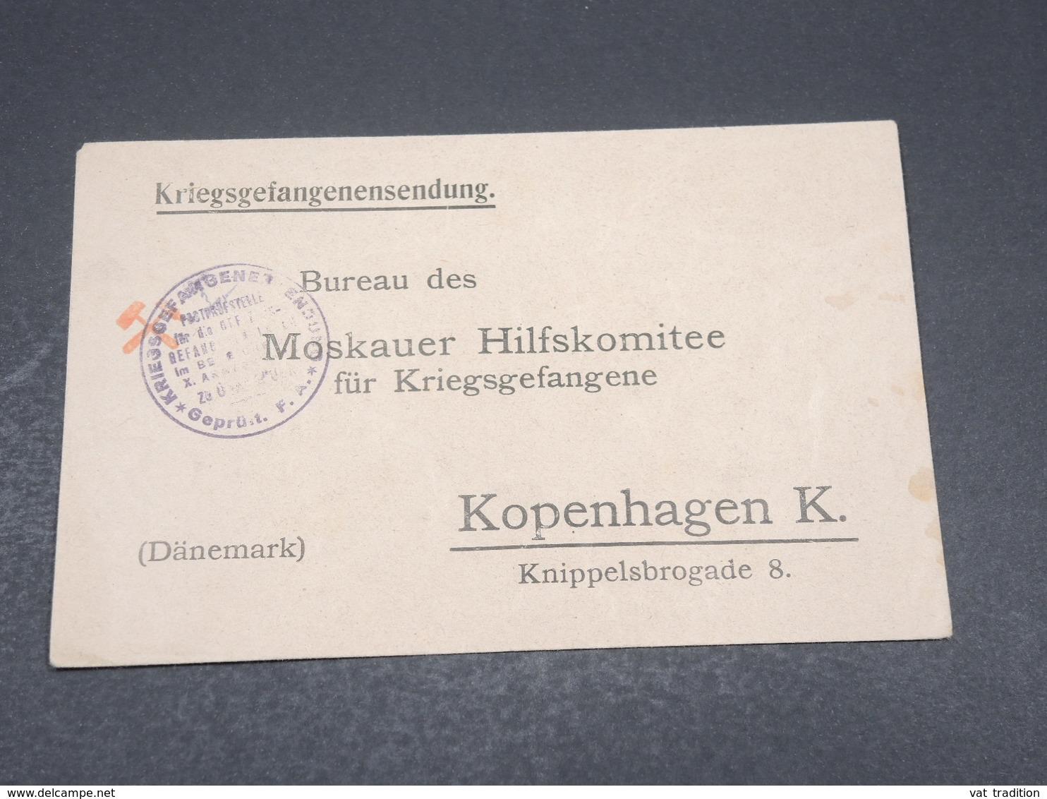 ALLEMAGNE - Enveloppe Pour Le Danemark En Franchise - L 17295 - Germany