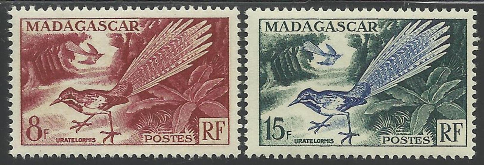 MADAGASCAR 1954 YT 323/324** - Neufs