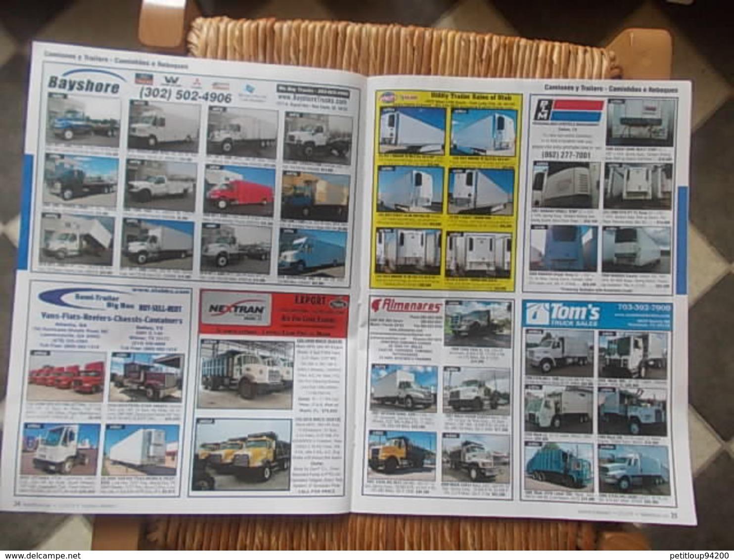 3 CATALOGUES VEHICULES  *Equipement Agricole *Equipement De Construction *Camions & Trailers *Accessoires Etc... MEXIQUE - Livres, BD, Revues