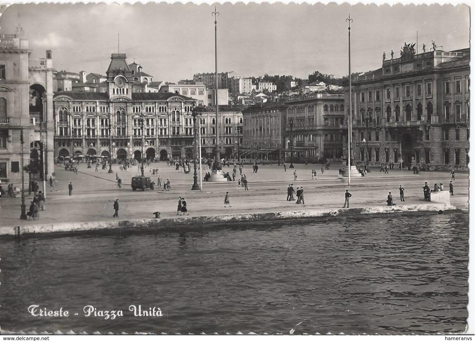 Trieste - Piazza Unità - H4429 - Trieste