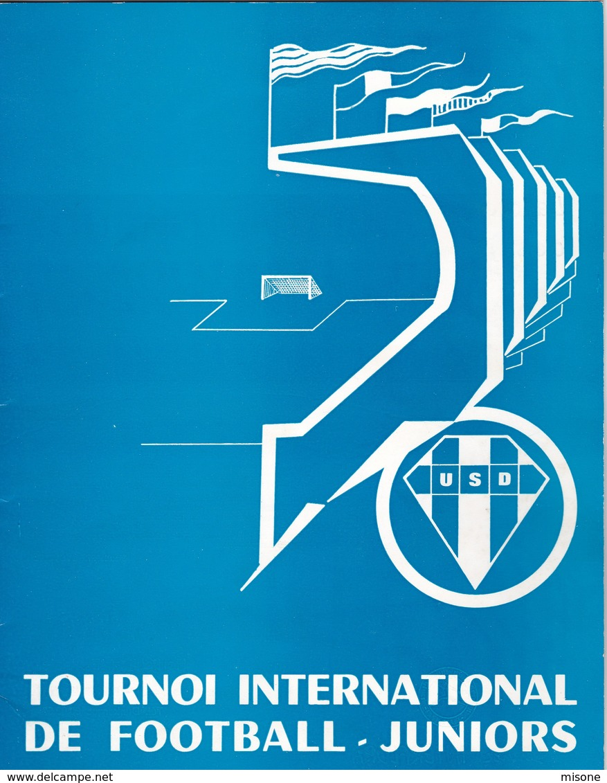Programme 4° Tournoi Football Jr Dunkerque 1972 - Sport