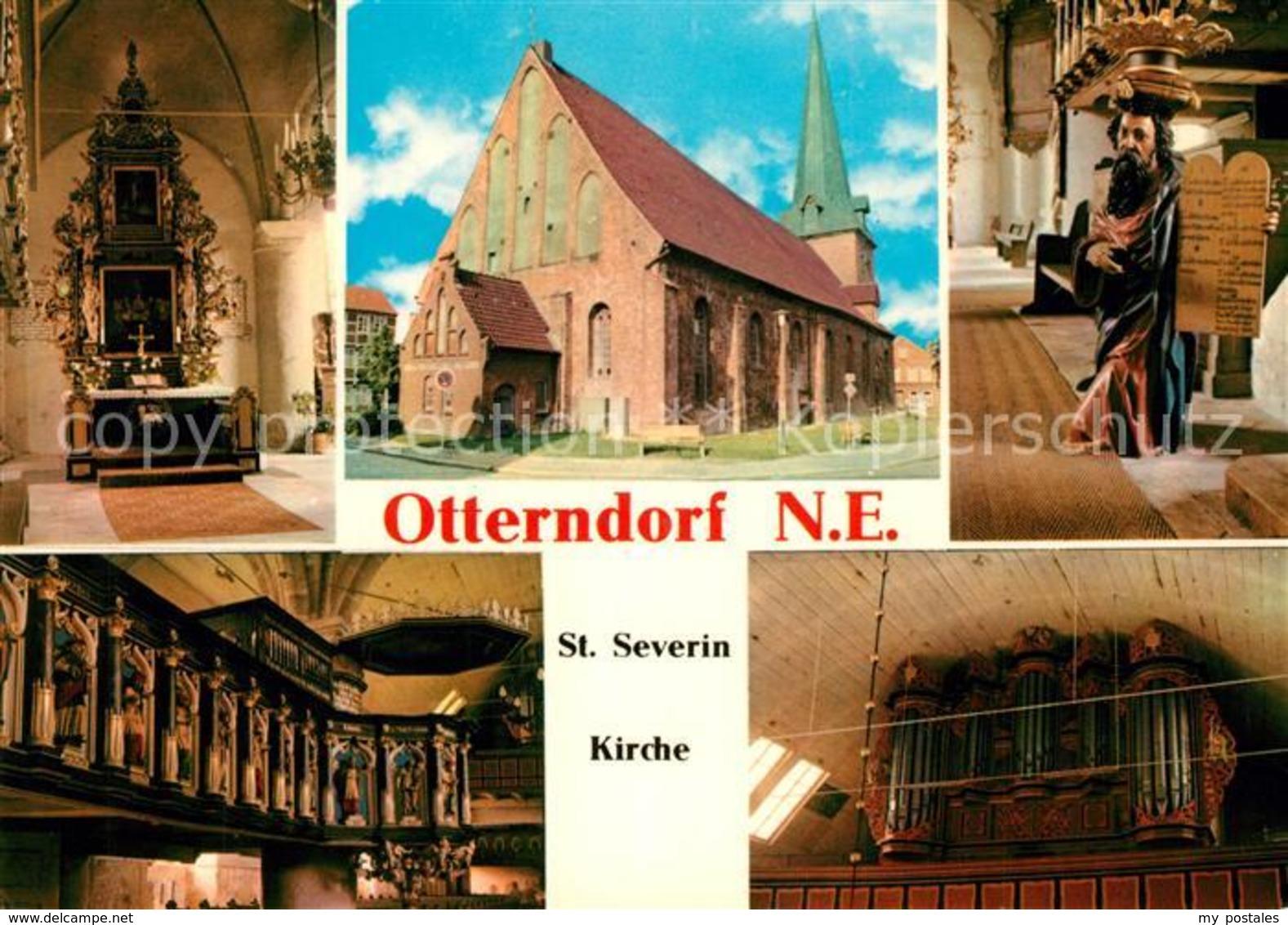 73232453 Otterndorf_Niederelbe Sankt Severin Kirche Otterndorf Niederelbe - Deutschland