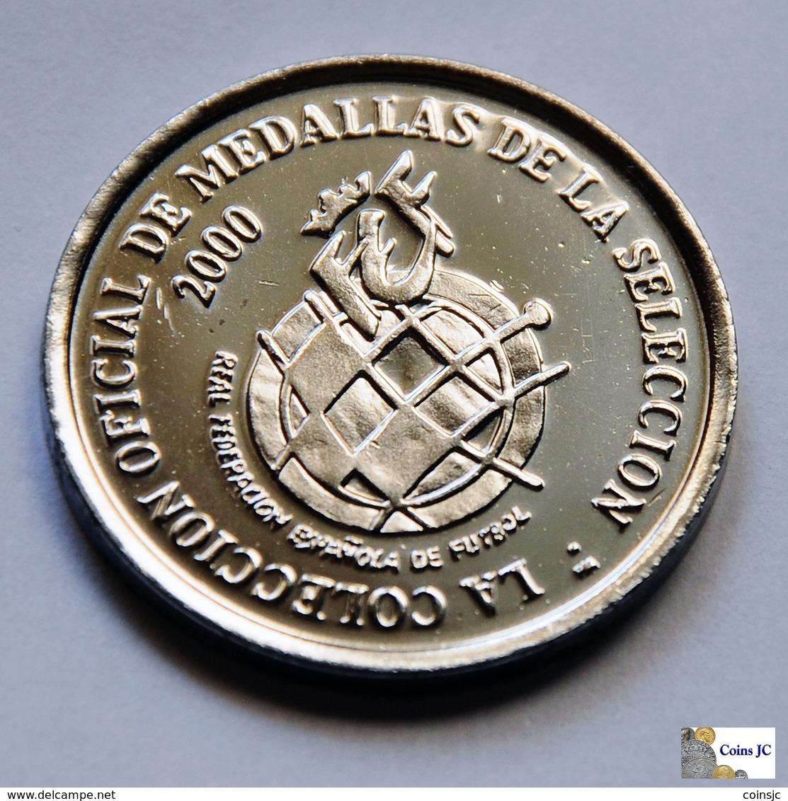 """España - Medalla Selección 2000 - """"VALERON"""" . - Profesionales/De Sociedad"""