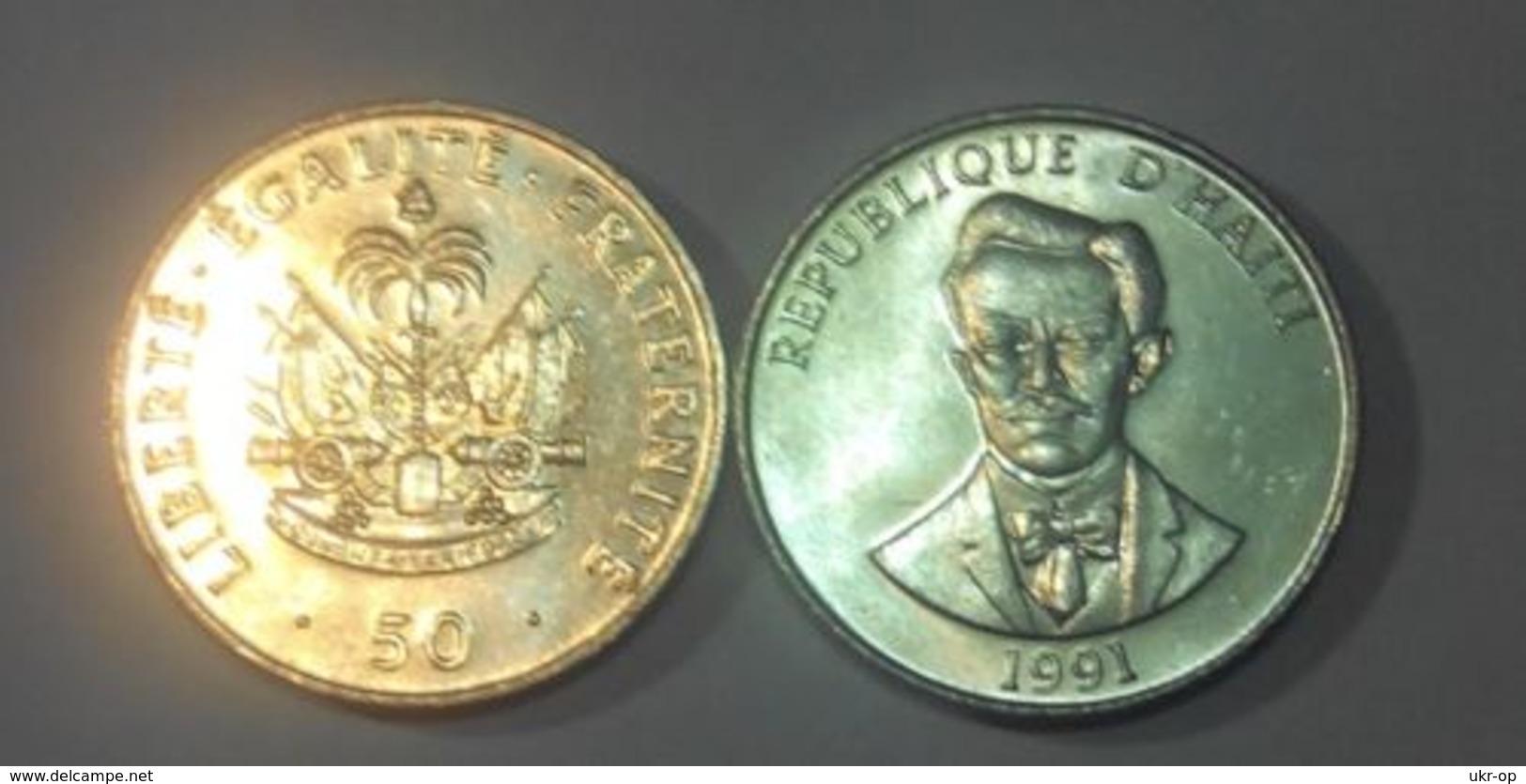 Haiti - 50 Centimes 1991 AUNC / UNC Ukr-OP - Haïti
