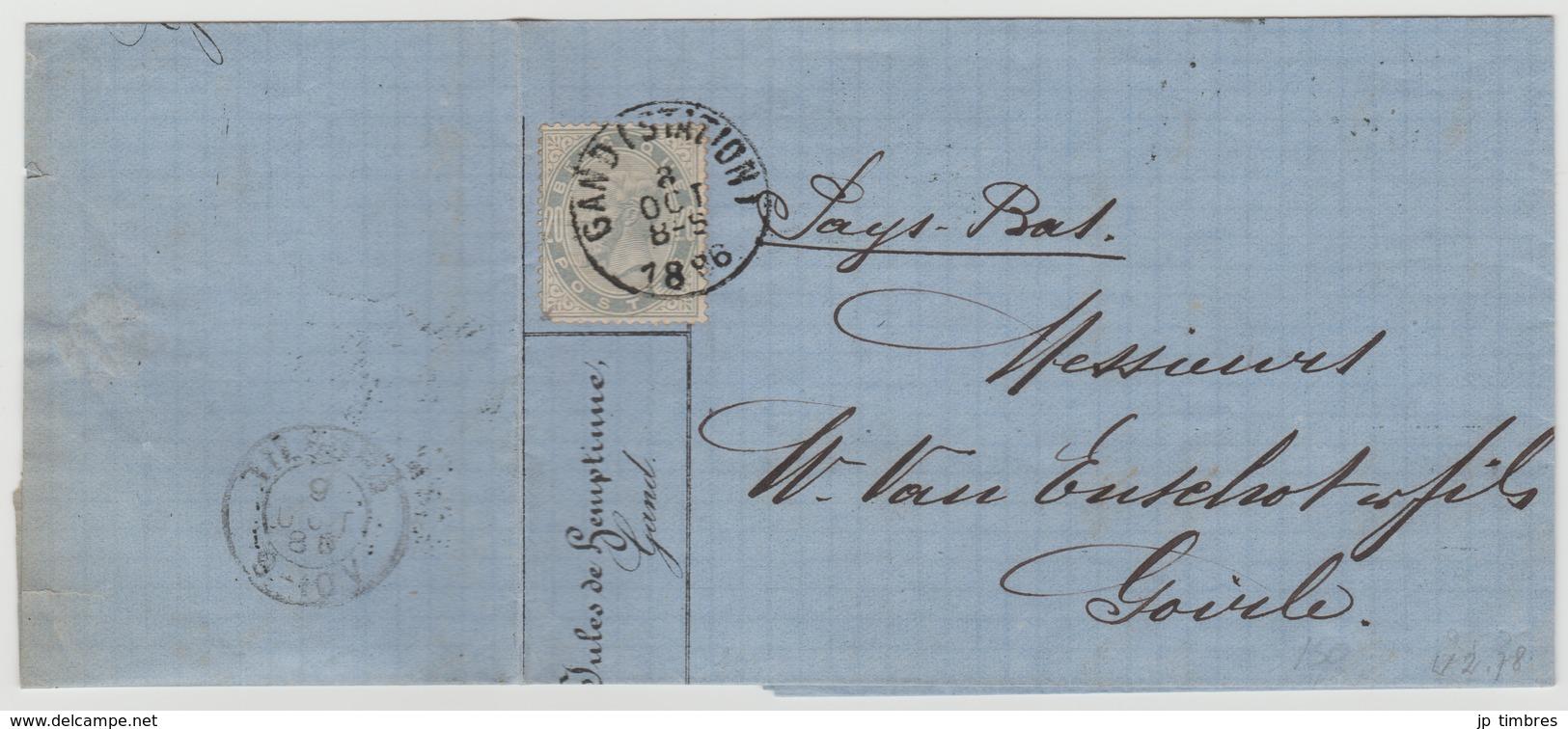 COB 39 - 1883 Leopold II