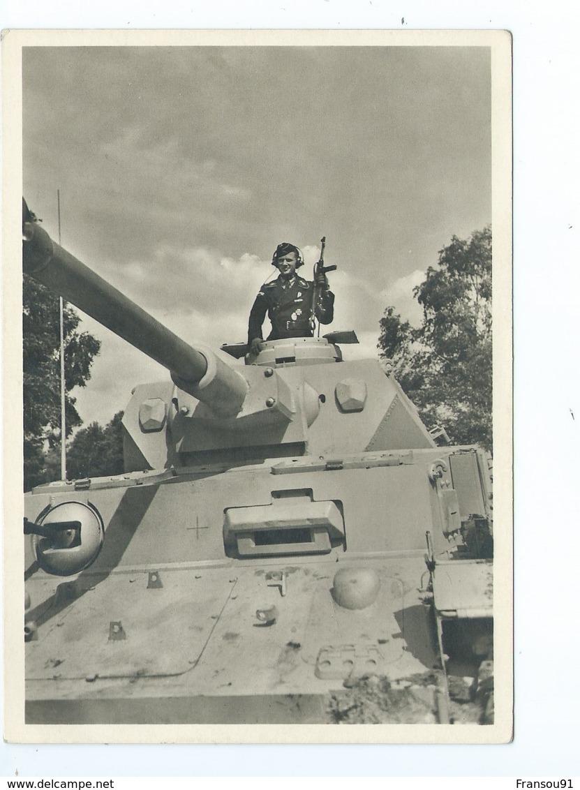 Unsere Waffen SS Panzer Im Angriff - War 1939-45