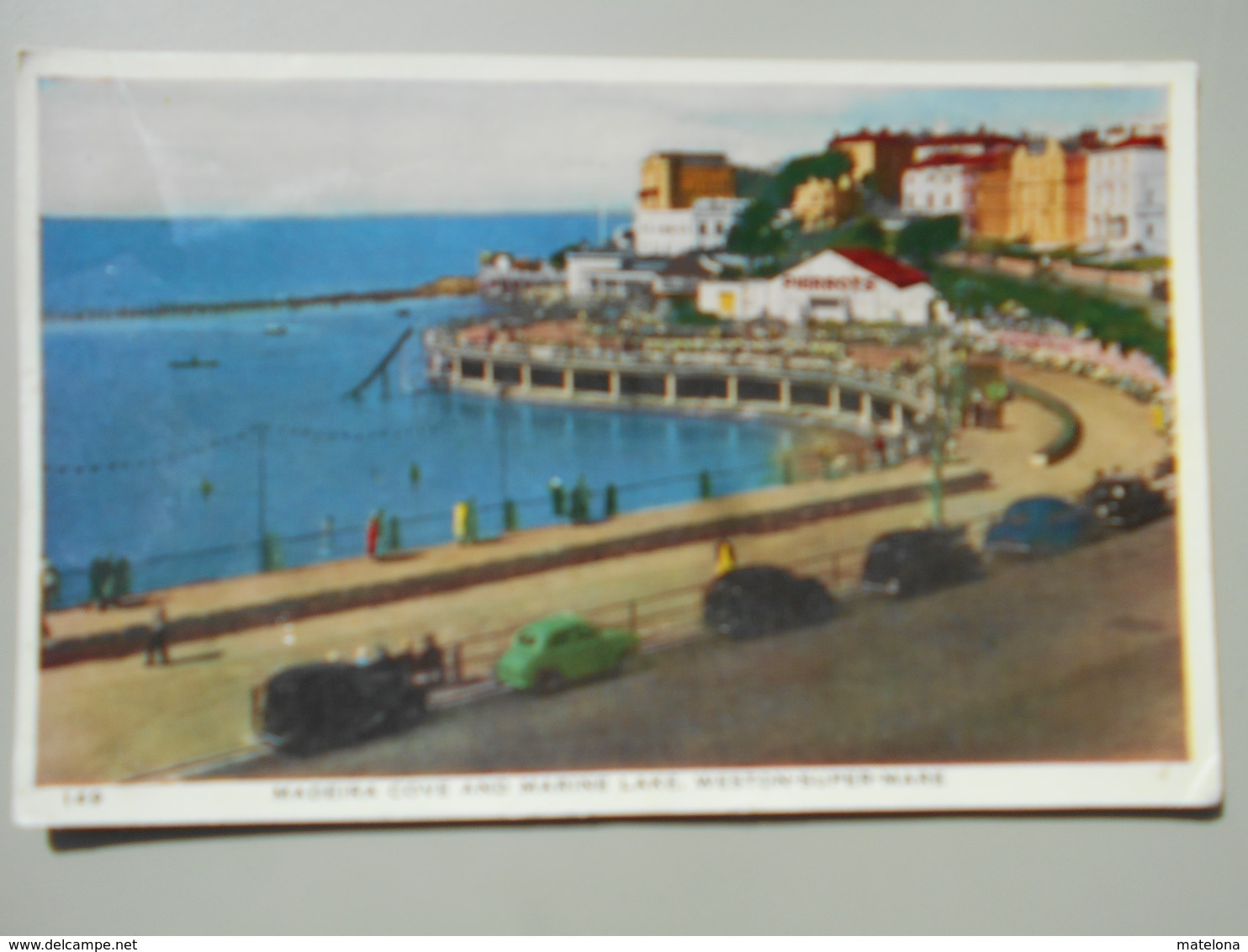 ANGLETERRE SOMERSET WESTON SUPER MARE MADEIRA COVE AND MARINE LAKE - Weston-Super-Mare