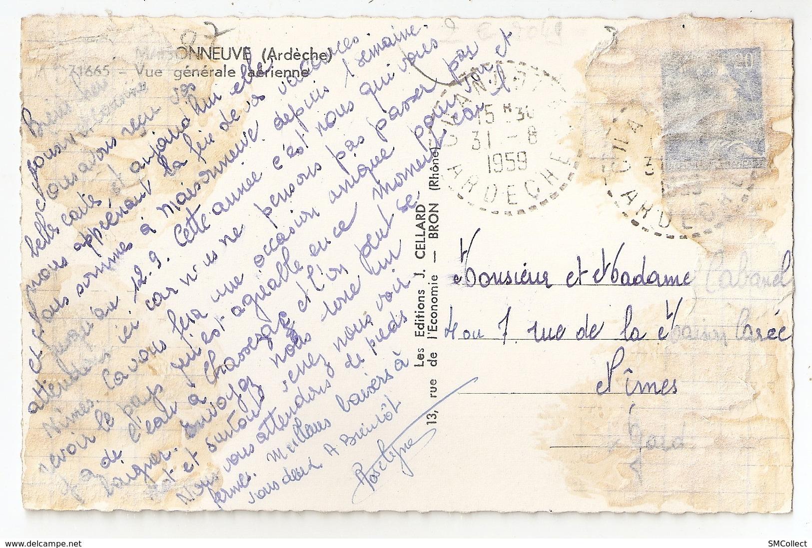 07 Maisonneuve, Vue Générale Aérienne (2870) L300 - France