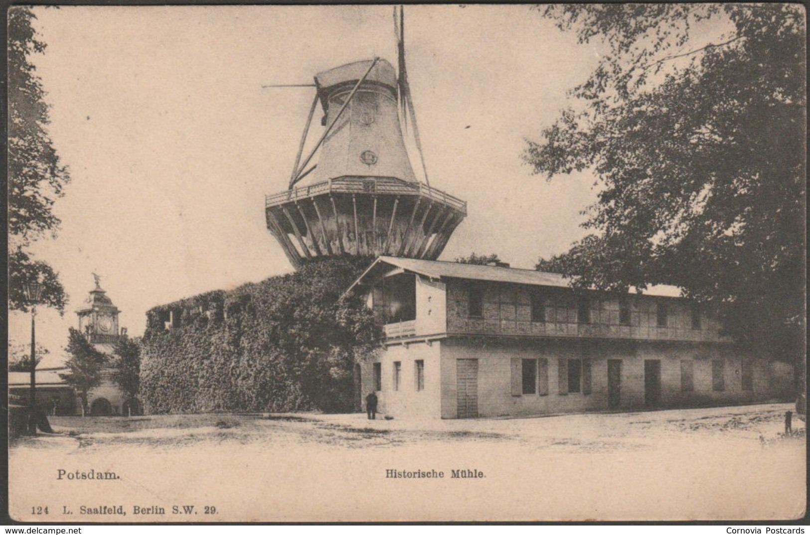 Historische Mühle, Potsdam, Brandenburg, C.1905 - Saalfeld U/B AK - Potsdam