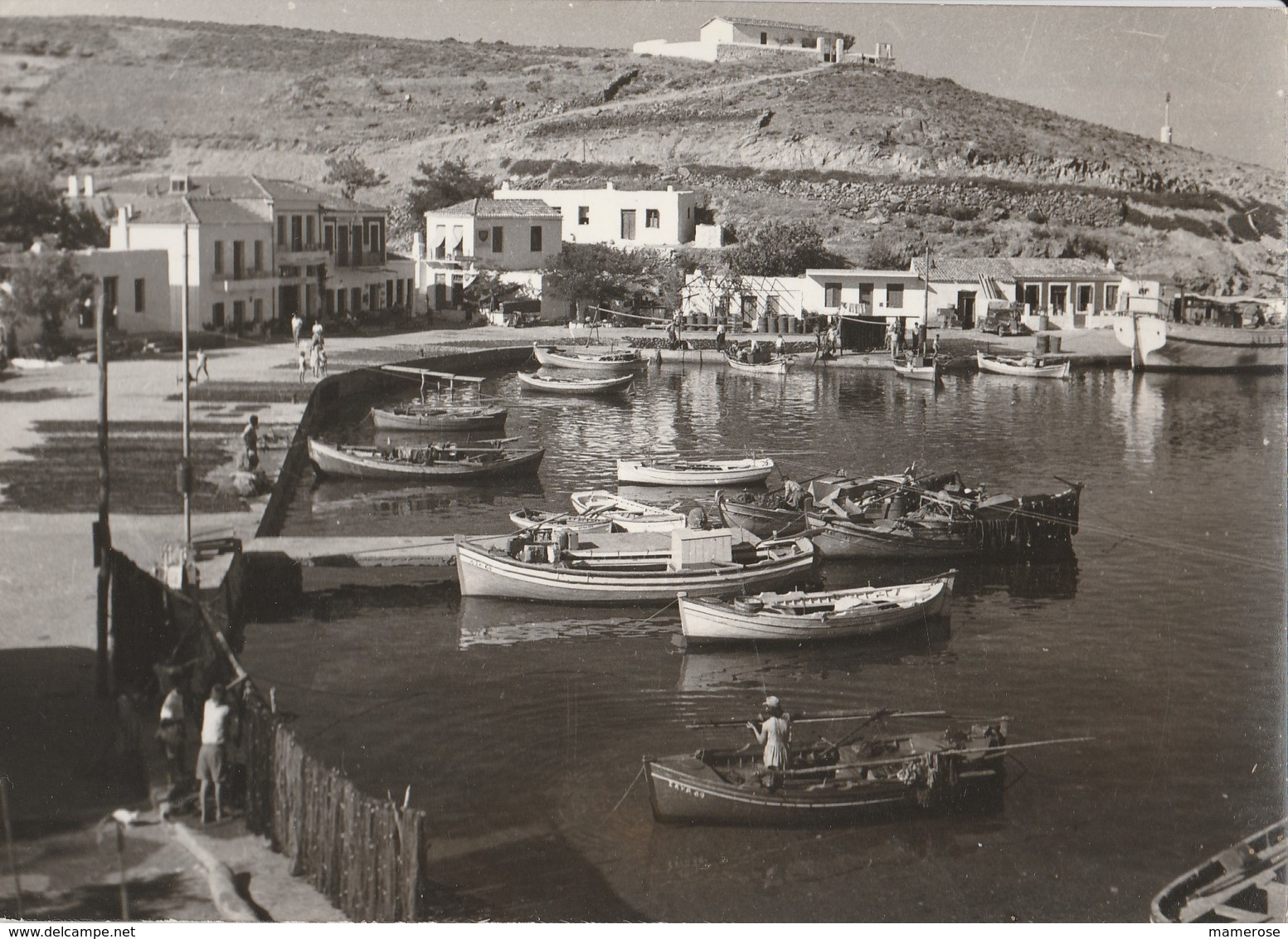 SKYROS (Grèce). Le Port. Barques De Pêcheurs. Photo I. Venardi - Greece