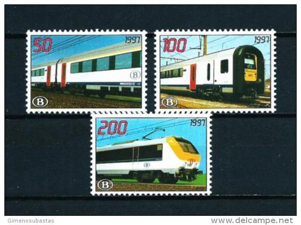 Bélgica  Nº Yvert  Paquete Postal-468/70  En Nuevo - Bahnwesen
