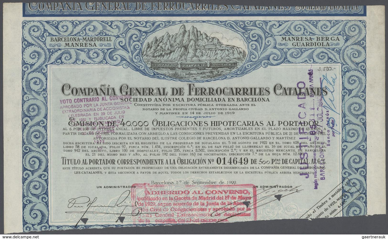 32965 Varia (im Briefmarkenkatalog): 1840er Ff.: Mehrere Hundert Aktien, Wertpapiere, Anleihen, Obligation - Unclassified