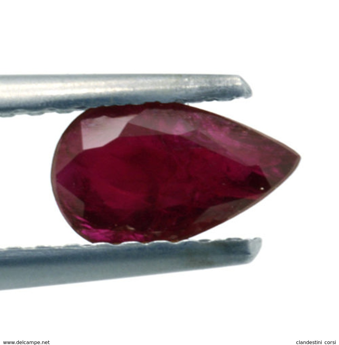 Rubis Naturel 0,66 Ct Avec Certificat Gemmologique - Robijn