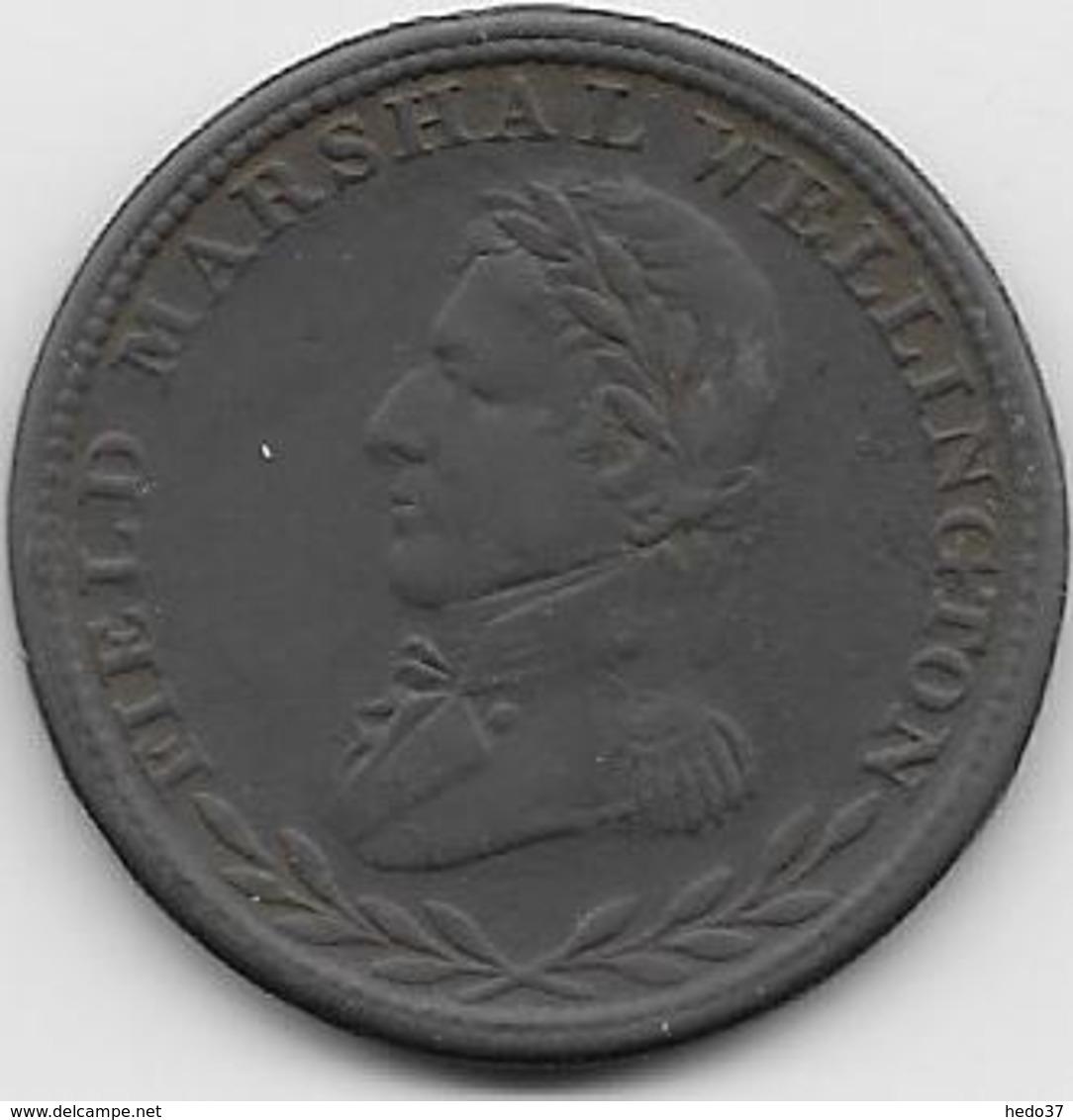 Grande Bretagne - Half Penny - 1813 - 1662-1816 : Acuñaciones Antiguas Fin XVII° - Inicio XIX° S.