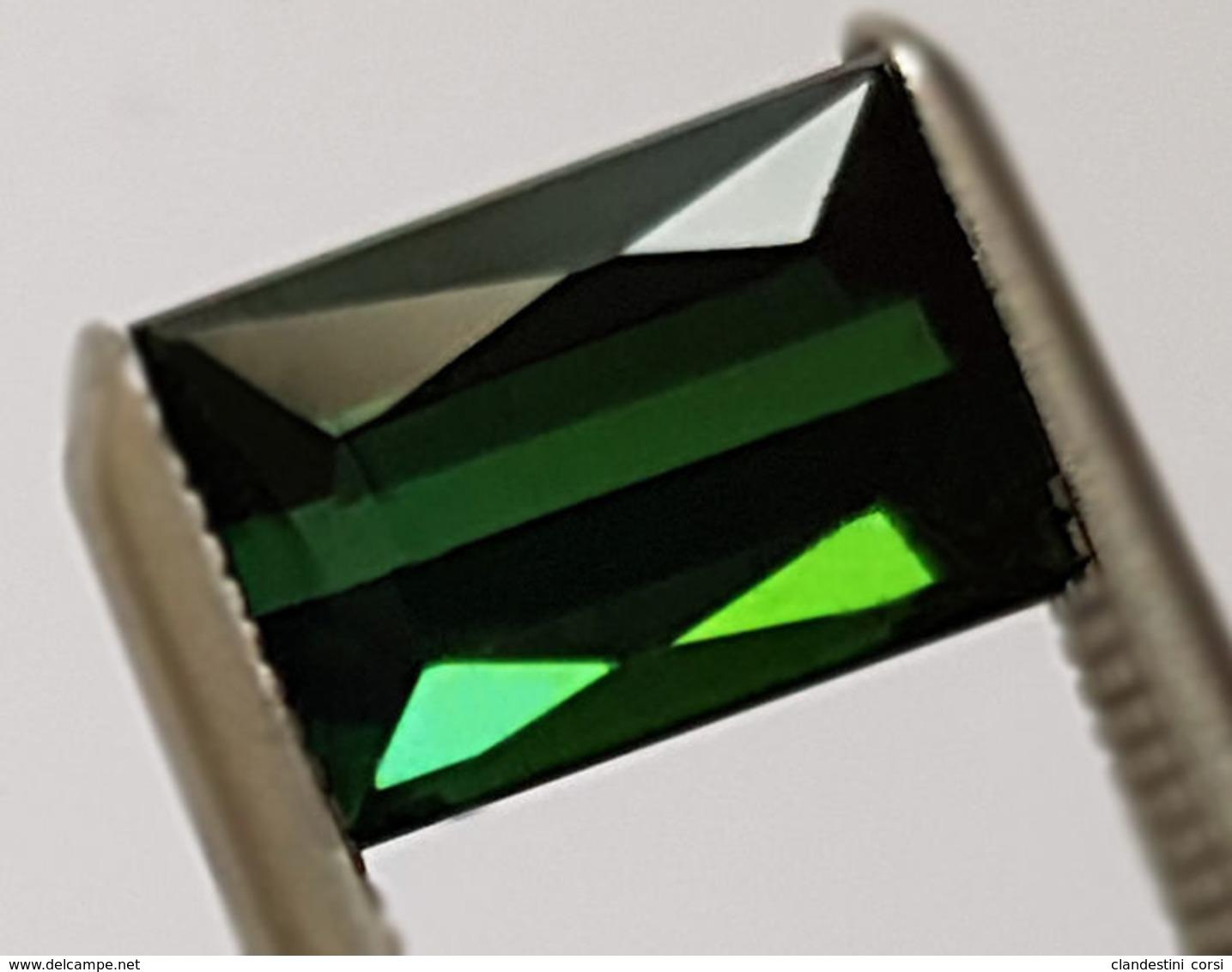 Tourmaline Naturel 1.48 Ct - Avec Certificat - Juwelen & Horloges