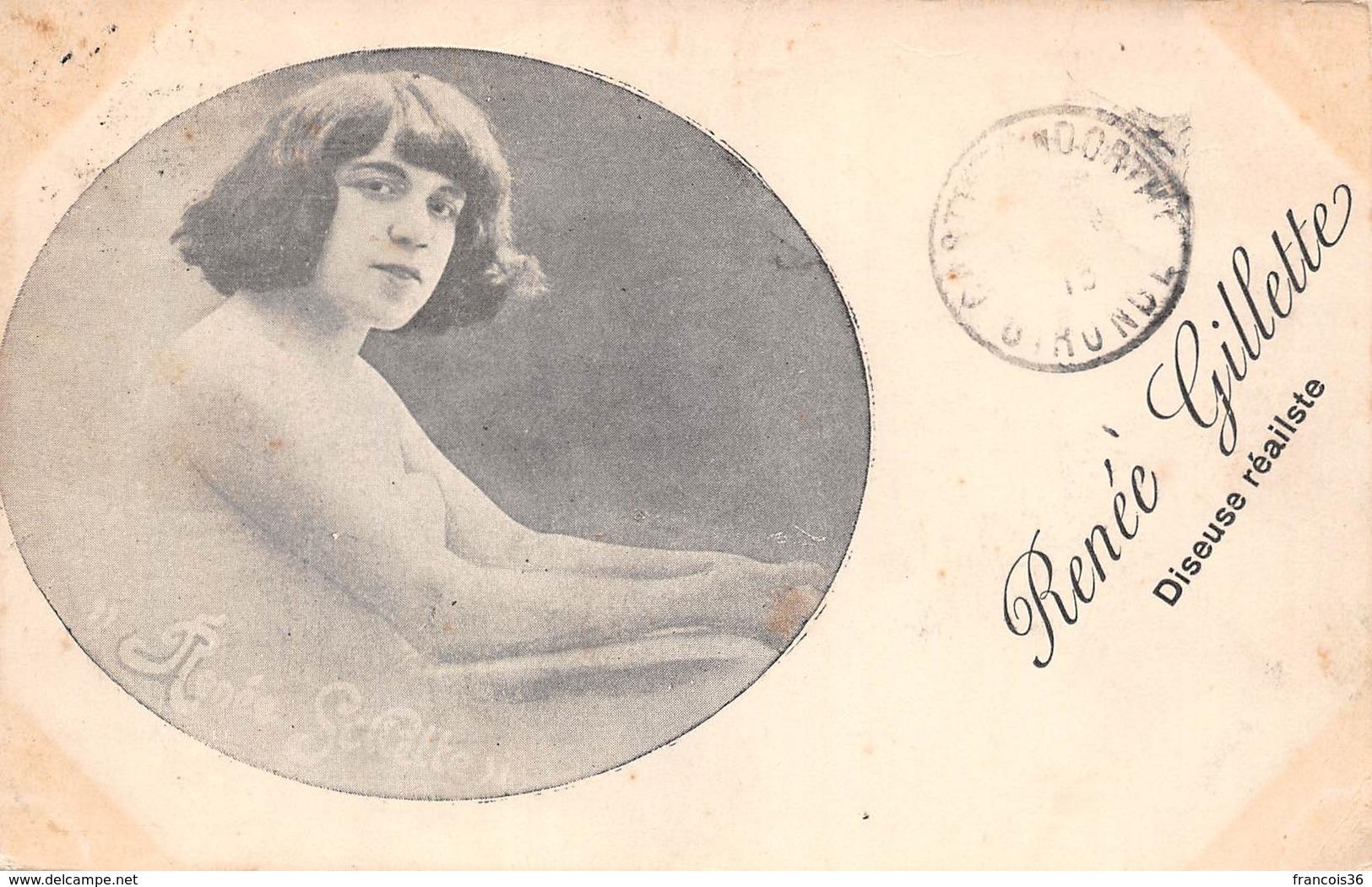 Renée Gillette - Diseuse Réaliste - De Montauban - Cartes Postales