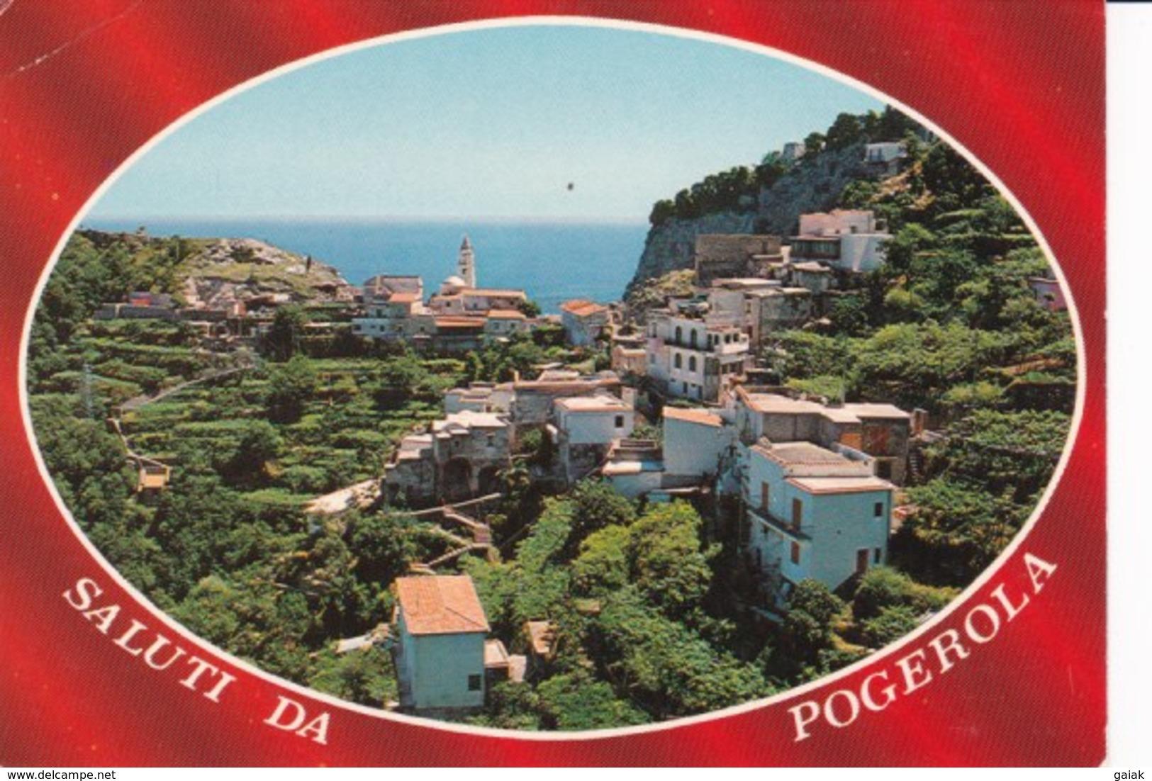 X48 SALUTI DA POGEROLA - VEDUTA DI POGEROLA - Salerno