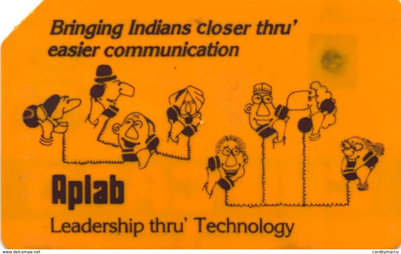 *INDIA* -  Scheda Usata - India