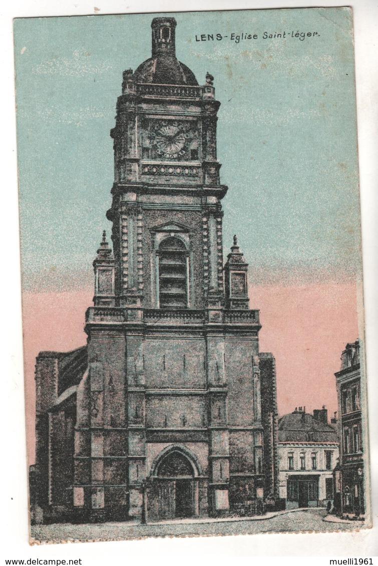 Nr.  7435,  Feldpost,  Lens - Guerre 1914-18