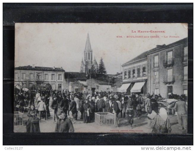 Z23 -  31 - Boulogne Sur Gesse - Le Foirail - Edition Labouche - - Otros Municipios