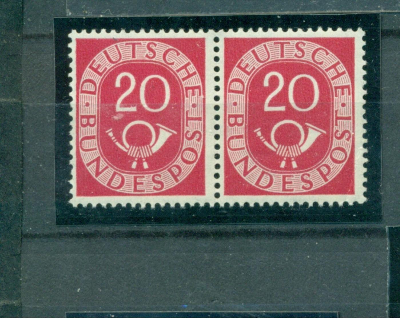 Bund Posthörnchensatz, Paar Nr. 130 Postfrisch ** - [7] République Fédérale