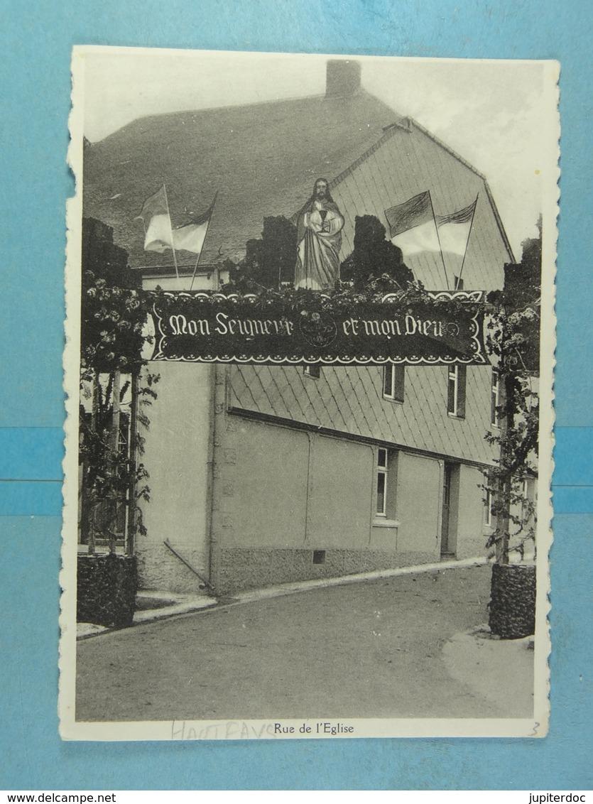 Hautfays Rue De L'Eglise (Congrès Eucharistique) - Daverdisse