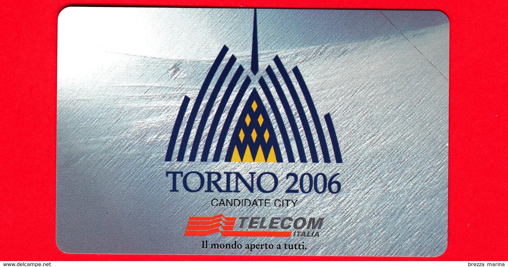 Nuova - MNH - ITALIA - Scheda Telefonica - Telecom - Torino 2006 - OCR 17 - C&C 3075  - Golden 959 - Fouten & Varianten