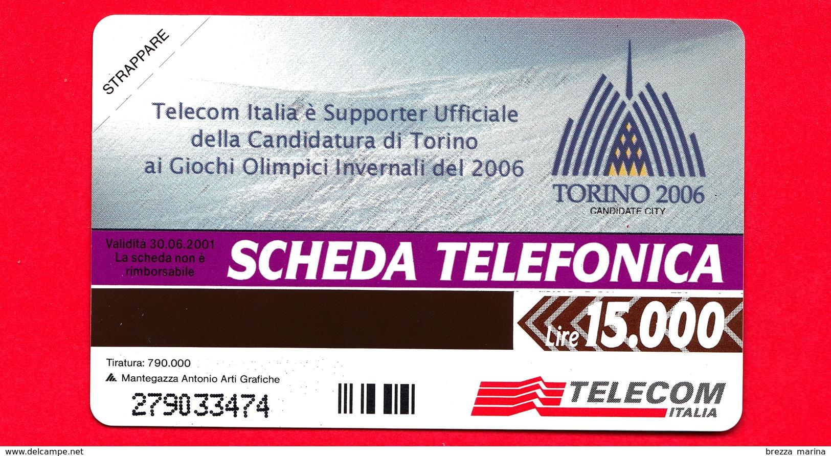 Nuova - MNH - ITALIA - Scheda Telefonica - Telecom - Torino 2006 - OCR 17 - C&C 3075  - Golden 959 - Italie