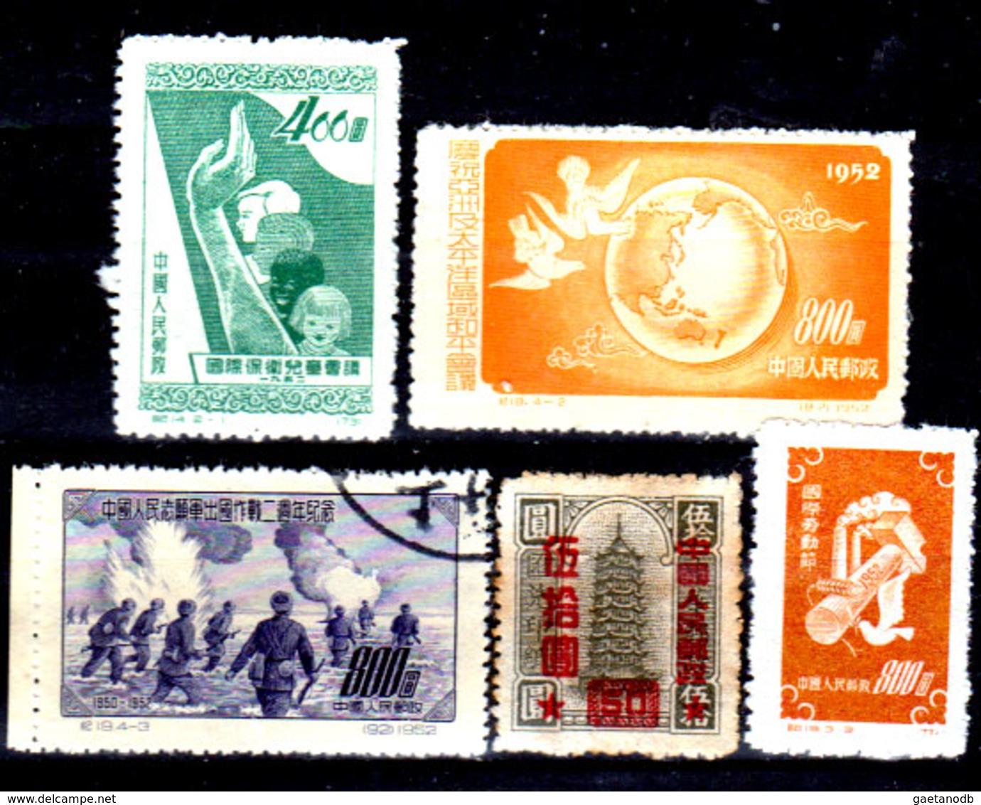 Cina-A-0297 - Emissione 1951-52 - - 1949 - ... People's Republic