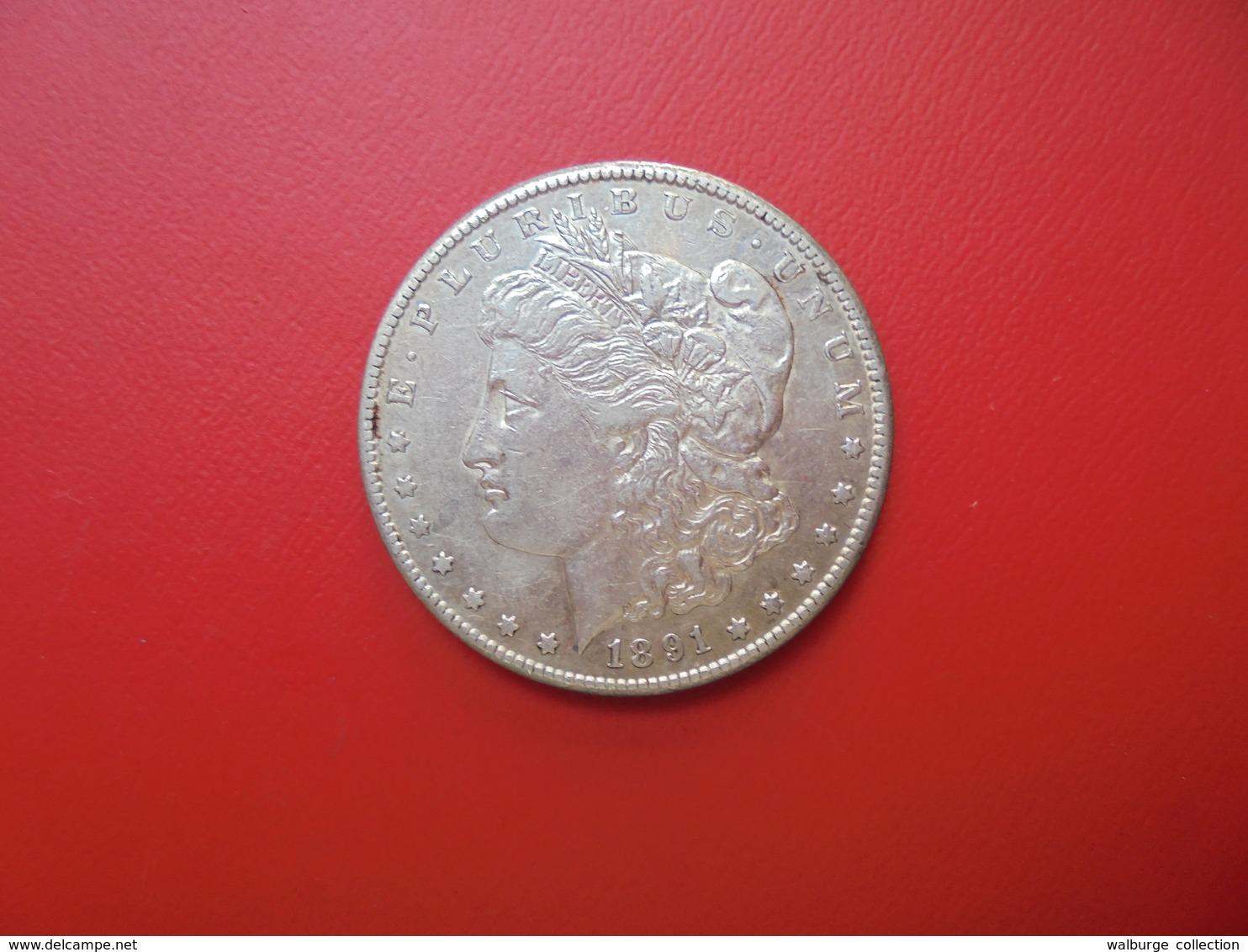 "U.S.A 1 DOLLAR 1891 ""S"" ARGENT  QUALITE : VOIR PHOTOS ! - Federal Issues"