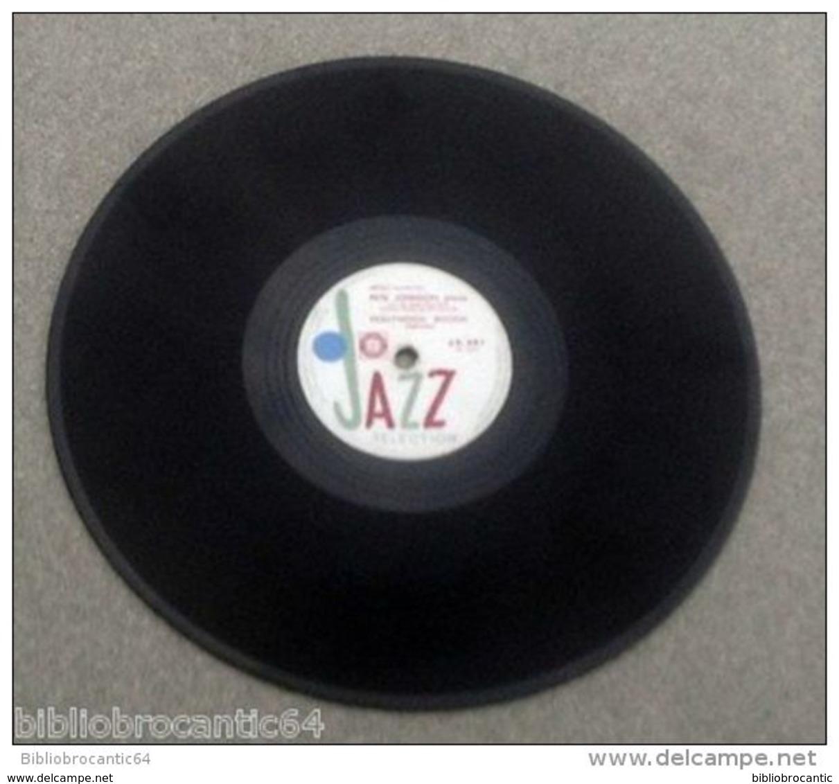 "78 Tours ""PETE JOHNSON* < HOLLYWOOD BOOGIE /CENTRAL AVENUE DRAG < JAZZ SELECTION J.S.681 - 78 Rpm - Schellackplatten"