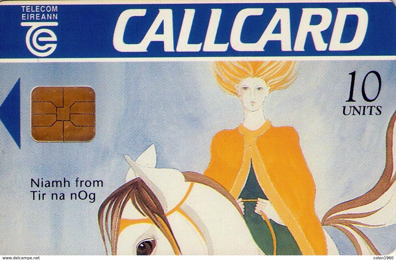 TARJETA TELEFONICA DE IRLANDA, NIAMH FROM TIR NA NOG. 1068d (014) - Irlanda