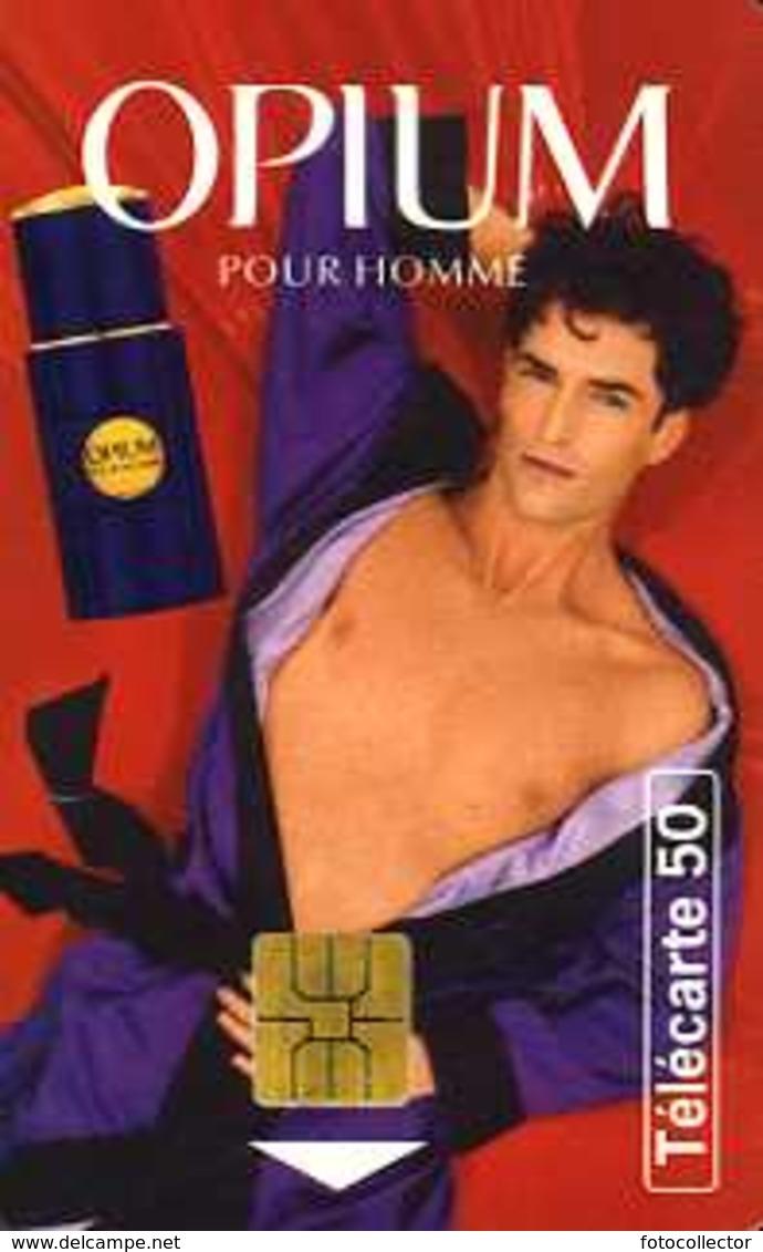 Télécarte 50 : Opium Pour Homme Par Yves Saint Laurent - Parfum