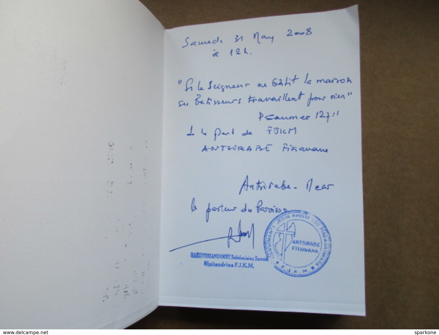 """Ny Baiboly """"Ny Soratra Masina Dia Ny Testamenta Taloha Sy Ny Testamenta Vaovao"""" / éditions De 2006 - Livres, BD, Revues"""