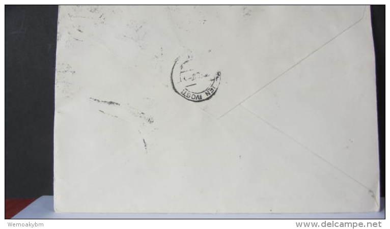 DR 33-45: R-Fern-Doppel-Brief Mit Kompl. Satz Leipziger FM Aus Braunschweig (263) V. 26.6.40 -portogenau- Knr: 739/2 Ua - Briefe U. Dokumente