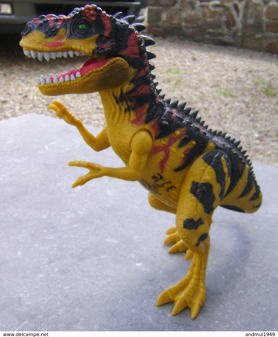 DINOSAURE Articulé - Chap Mei Plastic Toys - Longueur 24 Cm - Autres