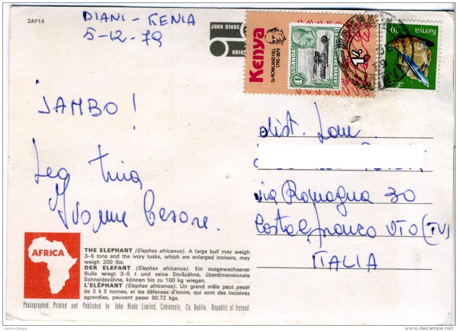 KENYA  KENIA  Elephant Nice Stamps Rowland Hill And Mineral Theme - Kenia