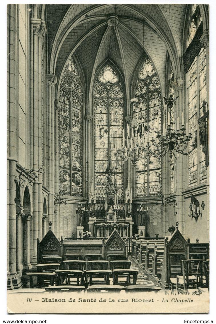 CPA - Carte Postale - France - Paris - Maison De La Santé De La Rue Blomet - La Chapelle - 1907 (CP3398) - Santé, Hôpitaux