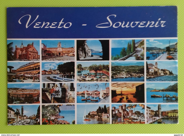 Cartolina VENETO - SOUVENIR - Viaggiata - Postcard - Vedutine - Italië