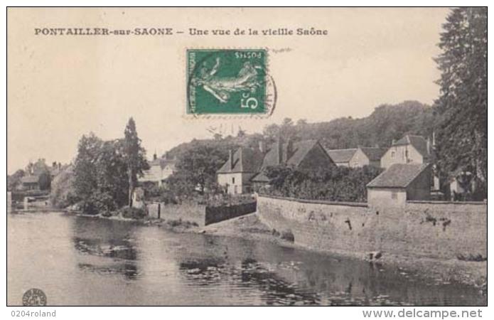 D21 - Pontailler Sur Saone - Une Vue De La Vieille Saône  : Achat Immédiat - France