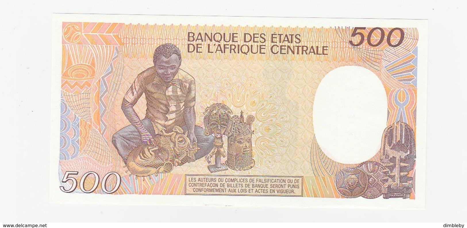500 Francs UNZ - Central African States