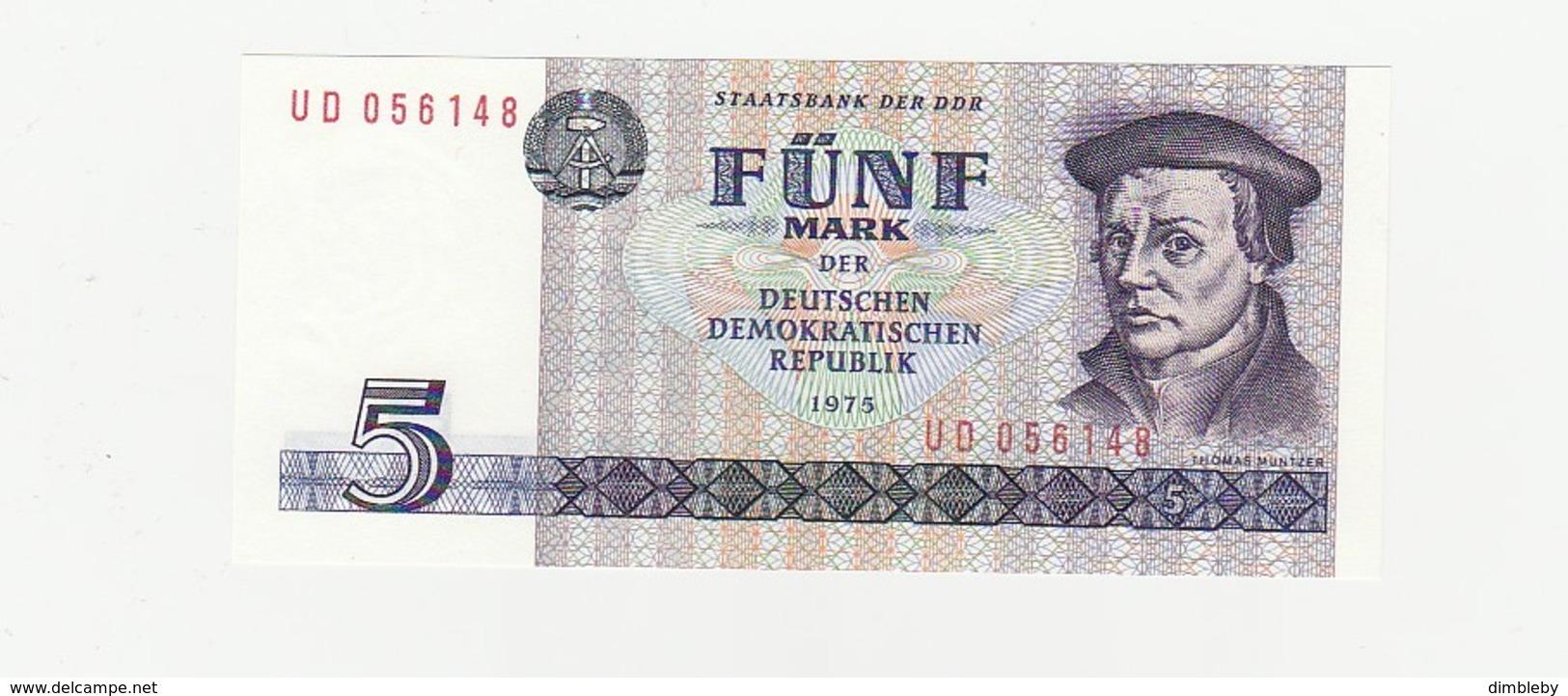 5 Mark DDR UNZ - [ 6] 1949-1990 : GDR - German Dem. Rep.