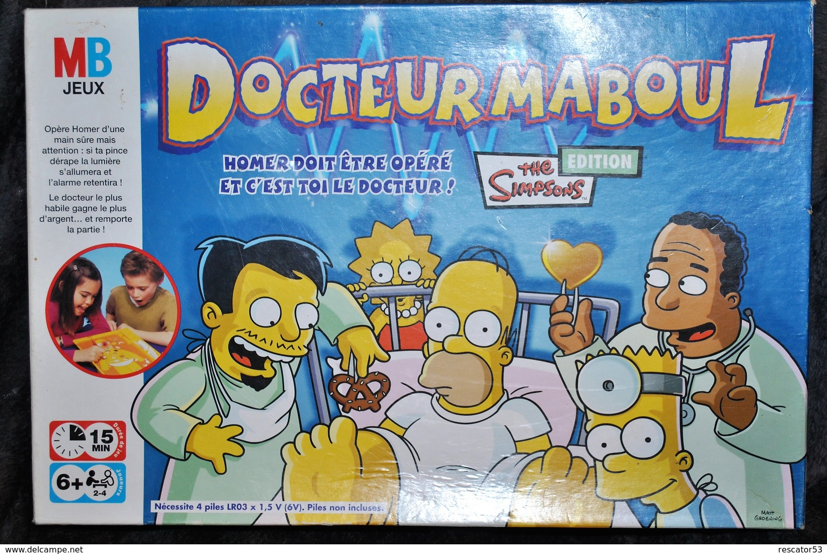 Rare Collector Docteur Maboul The Simpsons édition - Simpsons