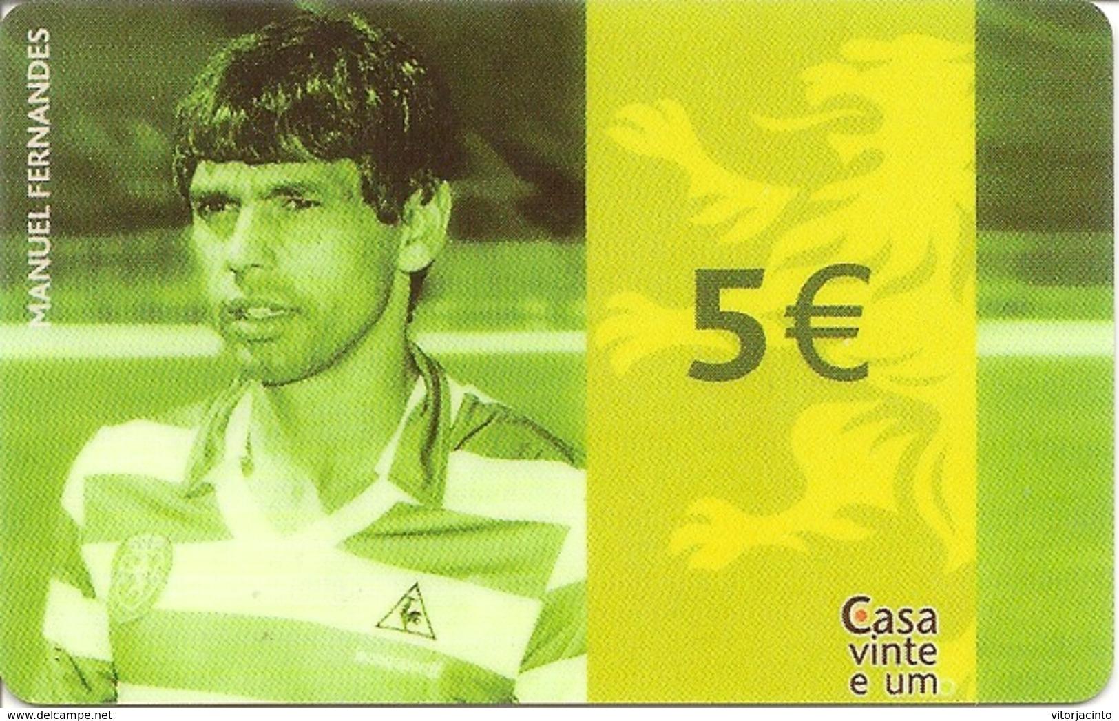 Casa Vinte E Um - Sport -  Football Player (Manuel Fernandes) - Unclassified