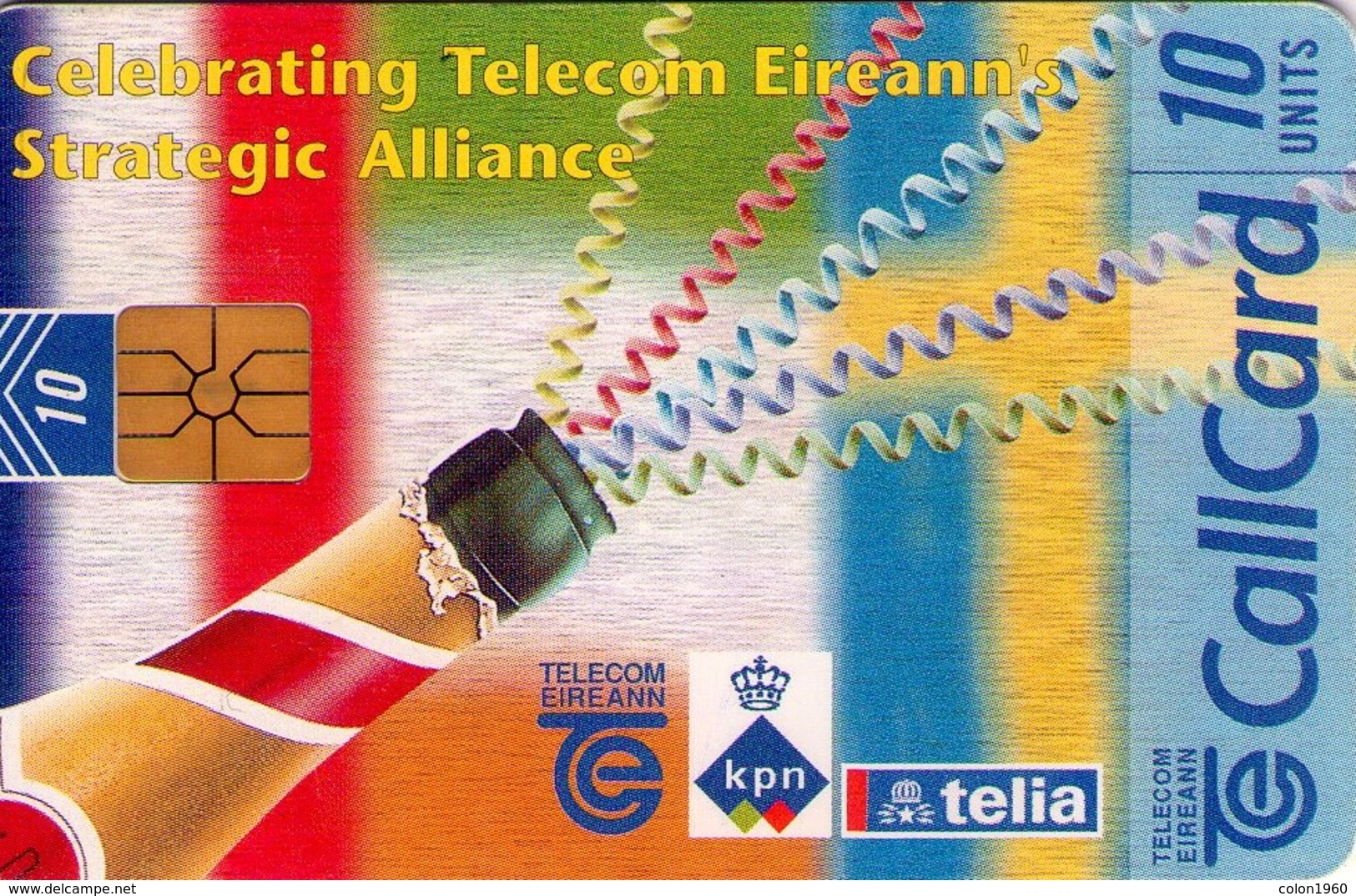 TARJETA TELEFONICA DE IRLANDA, STRATEGIC ALLIANCE. 1155 (038) - Irlanda
