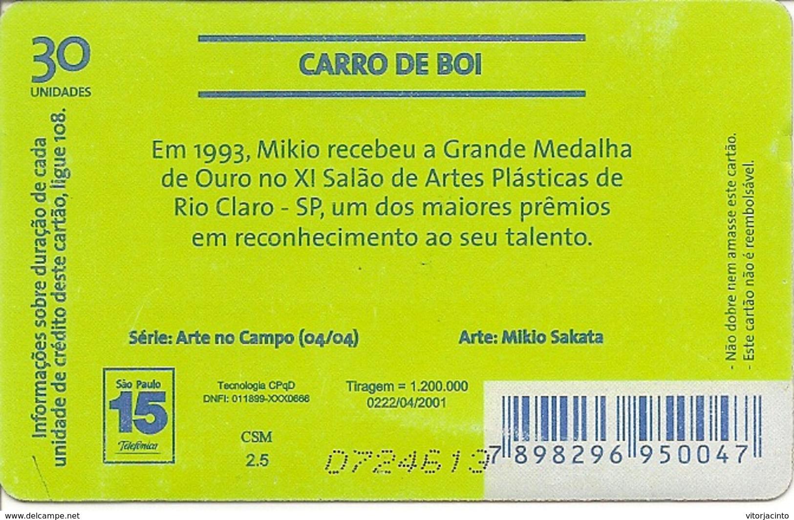 Telefónica - Carro De Boi - Brésil