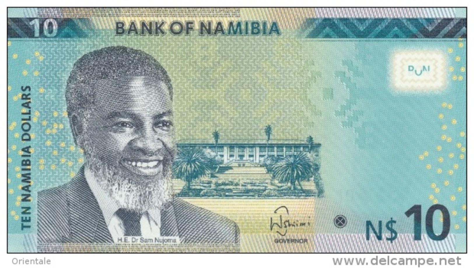 NAMIBIA P. 16 10 D 2015 UNC - Namibia